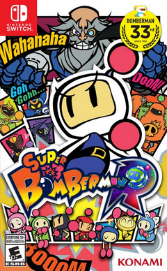 Super Bomberman Cover