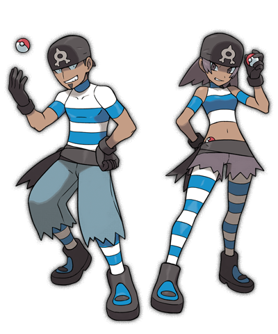 team aqua cosplay Pokemon