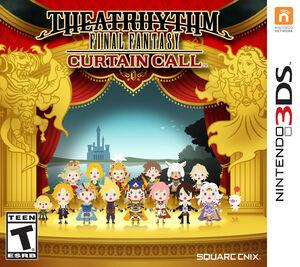 Theatrhythm Final Fantasy Curtain Call NA box art