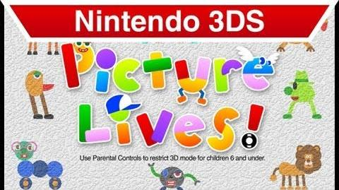 Nintendo 3DS - Picture Lives! E3 Trailer