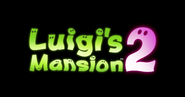 Luigi's Mansion 2 logo