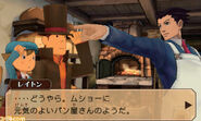 Professor Layton vs Ace Attorney screenshot 31