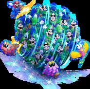 Bros Attack 1 - Mario & Luigi Dream Team