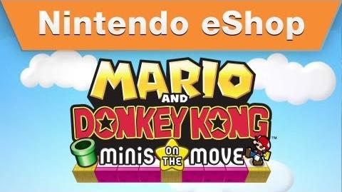Mario and Donkey Kong Minis on the Move - Nintendo Direct 2