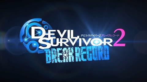 Devil Survivor 2 Break Record - TGS 2014 trailer