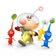 Olimar - Super Smash Bros.