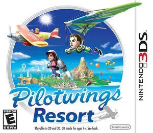 Pilotwings Resort cover