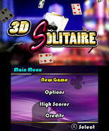 3D Solitaire screenshot 1