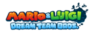 Mario & Luigi Dream Team Bros. EU logo