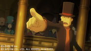 Professor Layton VS Ace Attorney screenshot 1