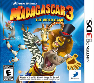 Madagascar 3 box art