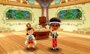 Pinocchio and Mii Photos