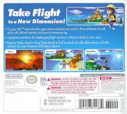 Pilotwings Resort back cover