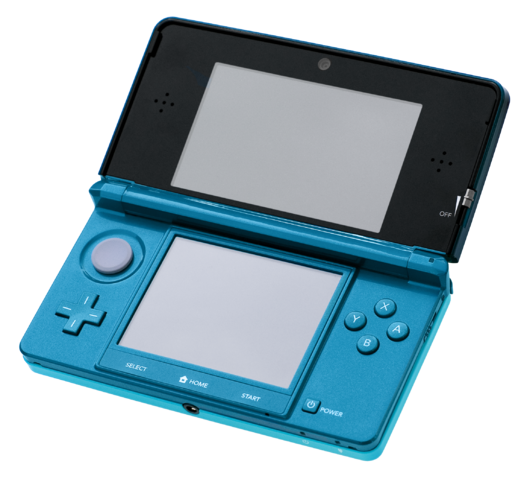 File:Nintendo 3DS Aqua Blue (frontview).png