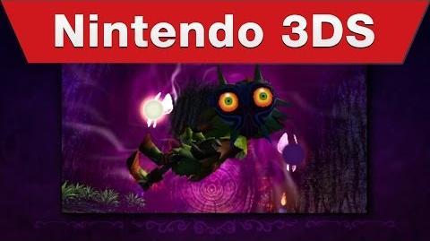 Nintendo 3DS - The Legend of Zelda- Majora's Mask 3D - Announcement Trailer