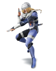 Sheik - Super Smash Bros.