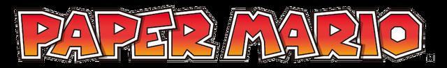 File:Paper Mario logo.png