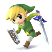 Super Smash Bros. - Toon Link