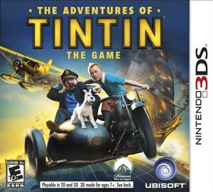 The Adventures of Tintin box art