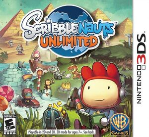 Scribblenauts Unlimited box art