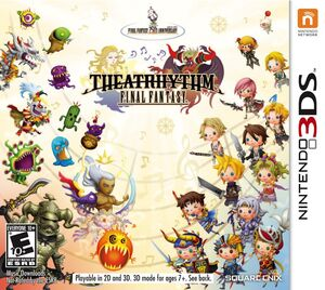 Theatrhythm Final Fantasy NA box art