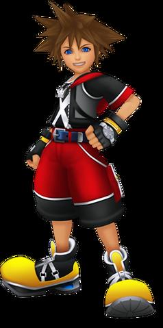File:Sora (Kingdom Hearts 3D) promotional image.png