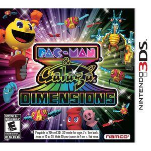 Pac-Man & Galaga Dimensions box art