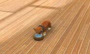 Wood water bowl