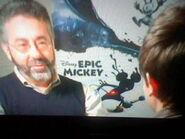 Creator of Epic Mickey
