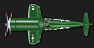 Green corsair