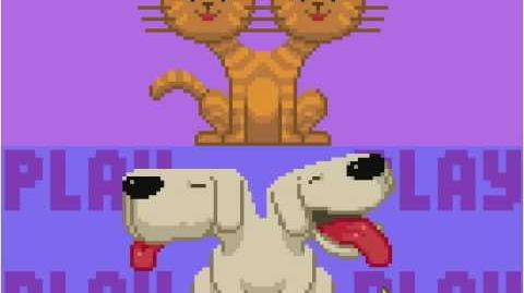 Nitrome - Pixel Pop How To beat the Siamese Dog level