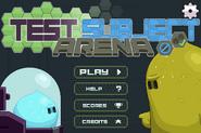 NT Test Subject Arena Menu