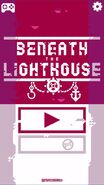 Beneath the Lighthouse mobile menu