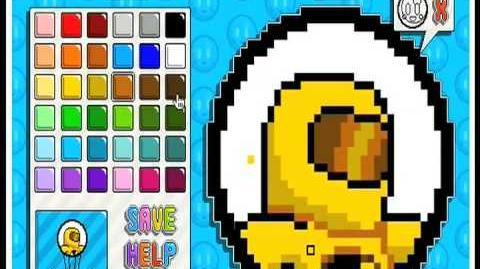 Nitrome Toxic Pixel Art