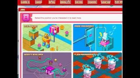 Nitrome avatars - Nitrome site (Plunger avatar)