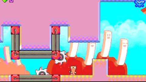 Silly Sausage in Meat Land - level 8