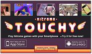 Nitrome Touchy Advertisement