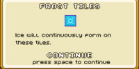 Frost tiles