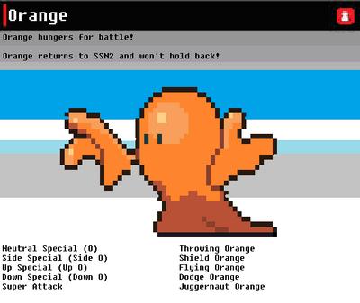 SSN Orange