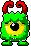 Hornycloponster male kid