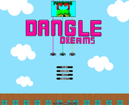 Dangle Dreams menu fixed