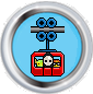 Cable car badge