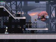 10) Cyber-Borg -309. Brain Monster