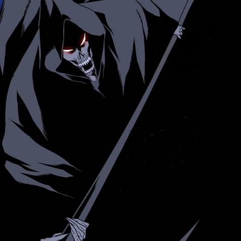 Seira summons the Grim Reaper.