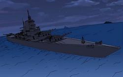 8th fleet battleship