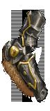 Crested Goldsteel Arm