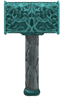 Ornate Jade Pounder