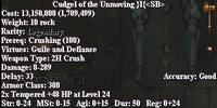 Cudgel of the Unmoving