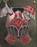 Ember Studded Hardsteel Breastplate