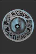 Runic Greysilver Shield